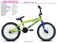 VELO ENFANT 20' BMX FREESTYLE Vert Bleu 105650U