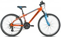 VELO ENFANT 24' JAGUARO ALTUS 21V ORANGE 19T605