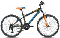 VELO ENFANT 24' VIPER 21V ORANGE 19T610