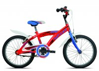 VELO ENFANT 18' STUFFY ROUGE 19T660