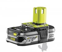 Batterie lithium/ion 18V 2,5Ah pour machines RYOBI. Remplace origine 5133001966 2101004