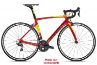 VELO FONDRIEST DARDO - M 50 - ROUGE JAUNE - CAMPAGNOLO SUPERRECORD 22 V - ROUES FACTORY - FREIN ETRIER 21F202M