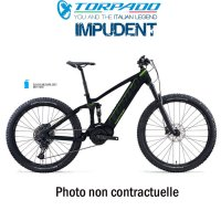 VELO IMPUDENT XANTO Z 27,5+ MAX XT 12S - Fourche RS35 GOLD 150mm - Taille M - Couleur BLACK/LIME/DARK GREY 21IFYICMM