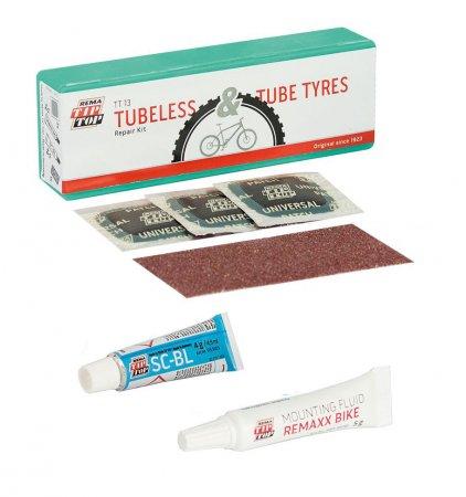 NECESSAIRE VELO TT13 Tubeless & Tube Type Tip Top 5060160