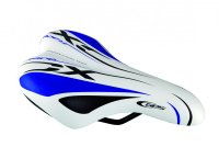 SELLE JUNIOR RACE Bleu/Blanc/Noir A311SB