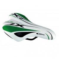 SELLE JUNIOR RACE Blanc / Vert / Noir  A311SV