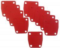 SOLEX MEMBRANE POMPE ESSENCE Rouge (Sachet de 10) AOS5R
