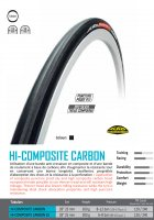 BOYAU TUFO HI-COMPOSITE CARBON - 23 mm BHIC2822