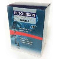 CHAMBRE CYCLOMOTEUR HUTCHINSON 2 3/4 x 16 (Valve Schrader) CC654641