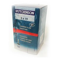 CHAMBRE CYCLOMOTEUR HUTCHINSON 2 x 19 SOLEX (Valve Presta) CC654731