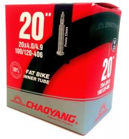 CHAMBRE 20 4,0-4.9 FAT BIKE VALVE PRESTA 33MM CHAOYANG CH204VP