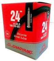 CHAMBRE 24 4,0-4.9 FAT BIKE VALVE PRESTA 33MM CHAOYANG CH244VP