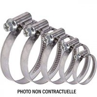 COLLIER SERRAGE A CREMAILLERE DE 50 A 70mm (Sachet de 10) COL970