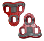 CALES PEDALES AUTOMATIQUE COMPATIBLE LOOK KEO ROUGE ANGLE 6° CPRO96