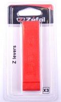 DEMONTE PNEU ZEFAL ROUGE PLAST BLISTER (x3) DP30-3Z