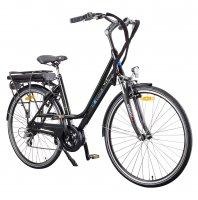 """VELO ELECTRIQUE  VELLIA 28"""" E-CITY Noir 36v Moteur pedalier BATTERIE 17,4Ah  E-CITY17"""