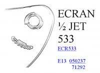 CASQUE SAV P ECRAN JET ST533 ECR533