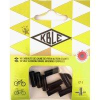 EMBOUTS GAINE D5 PLAST NOIR (Sachet de 10) KBLE EMBOUT5X10