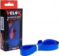 FOND DE JANTE 20' 18MM ETRTO 406 PVC BLEU X2 F2018K02