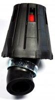 FILTRE AIR CONIQUE GRILLE NOIR/ROUGE FIL026