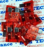 ELECTRICITE BTE 10 FUSIBLES PLAT 10 A FUSFE10