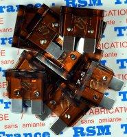 ELECTRICITE BTE 10 FUSIBLES PLAT 7,5A FUSFE7