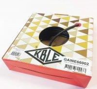 GAINE 25/10 Noire Tubée (Boite 15 m) KBLE GAINE66002