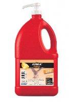 ARMA® GEL PLUS ROUGE BIDON 4L + POMPE LAVAGE Salissures fortes GEL450
