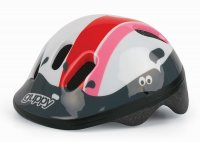 CASQUE ENFANT KID 44/48 GUPPY XXS Red White  GUPPYXSR