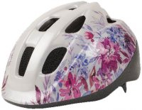 CASQUE ENFANT KID 52-56 S WHITE FLOWERS HB002J22