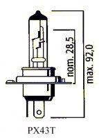 AMPOULE PX43T HS1 SCOOT 12V35/35 (Unité) LP323543