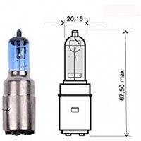 AMPOULE BA20D CODE 12V 35-35 Halo Bleu LP3939B