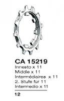 PIGNON MICHE CAMPA 11v INTERMED 12D P12CA11I