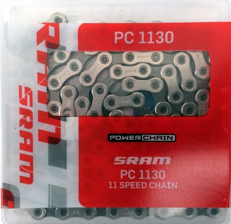 CHAINE 11 V SRAM PC 1130 114M Hollow Pin Rival PC1130