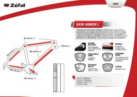 PROTECTION DE CADRE ARMOR 14P L - 2601 PC2601