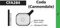 PLAQUETTES CODA (Cannondale) EBC PLAQVEBC284