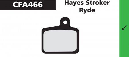 PLAQUETTES HAYES STROKER RYDE EBC PLAQVEBC466