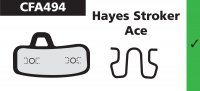 PLAQUETTES HAYES Stroker Ace EBC PLAQVEBC494