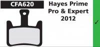 PLAQUETTES HAYES PRIME PRO&EXP 2012 EBC PLAQVEBC620