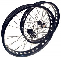 """ROUE PAIRE FAT80 26"""" 130+170 Rlmts PRFAT170"""