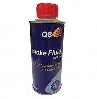 LIQUIDE FREIN DOT4+ Synthèse 250ml Q8 Oils Q8DOT4250