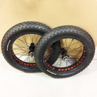 TORPADO PIECES ROUE Paire FAT BIKE 20p Pn+Ch R20AIFAT