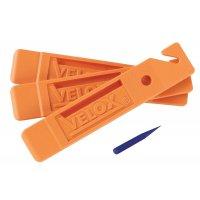 DEMONTE PNEU VELOX VTT COURSE X3 AVEC EXTRACTEUR DE SILEX R604K00