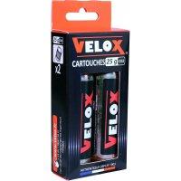 CARTOUCHES CO2 FILETEE 25G X2 VELOX RCO225K02