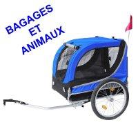 REMORQUE BAGAGERE OU ANIMAUX 20' BLEU  REM5809