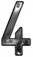 SACHET de 10 Rislans 4 pour Plaques Prépercées MOTO & SCOOTER RILSAN4