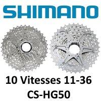 CASSETTE 10V 11X36 SHIMANO CS-HG50  SHC50