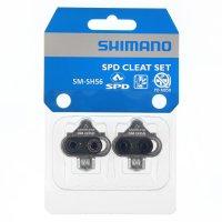 CALES PEDALES AUTOMATIQUE SPD ARGENT SM-SH56, Multidirectionnel SHIMANO Y41S98100 SHC54