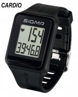 CARDIOFREQUENCEMETRE SIGMA MONTRE iD.GO BLACK SIG24500