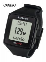 CARDIOFREQUENCEMETRE SIGMA MONTRE iD.LIFE BLACK SIG24600